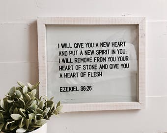 Ezekiel 36:26 Sign