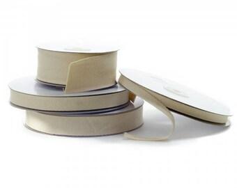 "Natural Cream HERRINGBONE COTTON TAPE Twill Tape, Webbing, Straps, Decoration, Bunting, Sewing ribbon - Choose Size 3/8"", 5/8"", 7/8"", 1.5"""