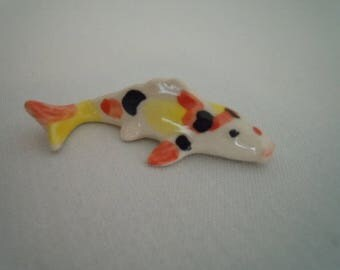 Miniature Coy Fish ~ Pond ~ Goldfish ~ Fish Tank ~ Pet Store ~ Pet Fish ~ Miniature ~ Fairy garden ~ Dollhouse ~ Terrarium ~ Accessories