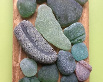 Sea glass mix , Scottish sea glass , genuine sea glass , authentic sea glass , frosted sea glass , surf tumbled glass , green sea glass