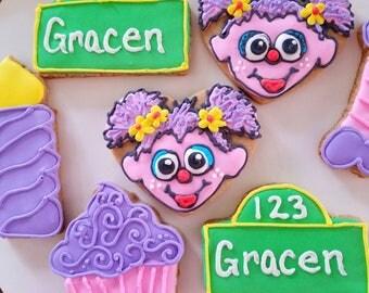 Abby cadabby cookies (12)