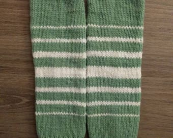 Hand Knitted Leg Warmers for Toddlers