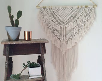 FALCON - Extra Large Macrame Wall-Hanging