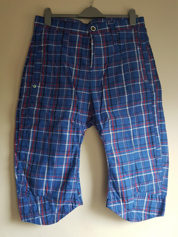 d38d2e43711 Mens Check Humour Skater Shorts - Size M