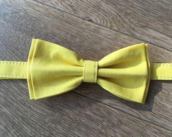 Bowtie - yellow