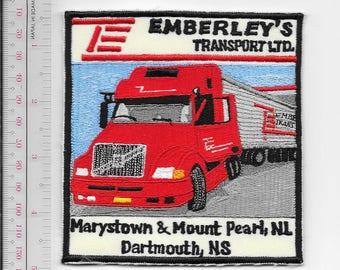 Vintage Trucking  & Van Lines Emberley Transport Ltd Newfoundland, Matimes,