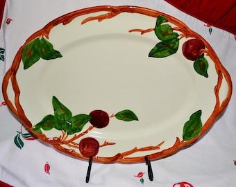 Franciscan Apple Oval Platter, Franciscan Dinner Ware