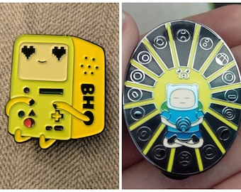 Adventure time festival hat pin combo pack
