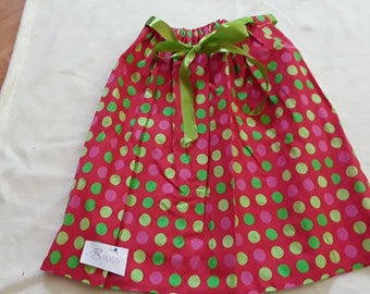 Skirt 8 Green Ribbon