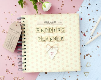 Wedding planner book etsy junglespirit Image collections