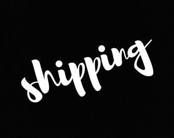 shipping -custom reship order
