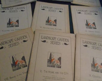1920's Landscape Garden Series