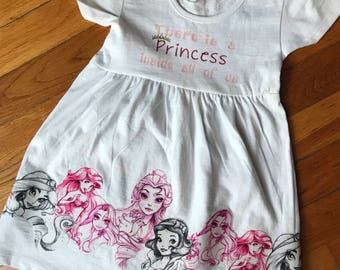 Disney princess dress, Belle dress, Rapunzel dress, Ariel Dress, Jasmine Dress,