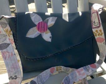 Floral retro spring bag shoulder strap