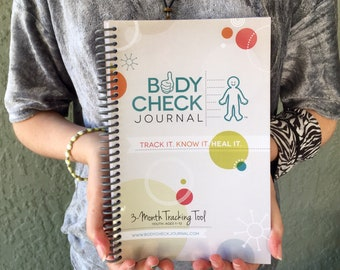 Body Check Journal - Kid's Medical Tracking Health Journal