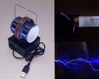USB 5V Bi-Polar Tesla Coil / Various Colors