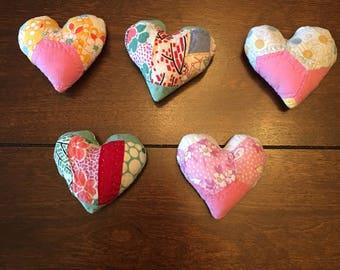 Quilted Heart Posing Pillow/Posing Pillow/Posinh Heart Stuffie
