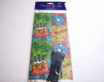 Birthday Treat Bags, Adult Birthday Gift Bags, Kids Birthday Party Treat Bags, Birthday Candy Bags, Birthday Goody Bags, Birthday Party Bags