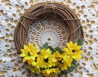 Small Rustic Wreath | Boho Home Decor | Tween Girl Room Decor