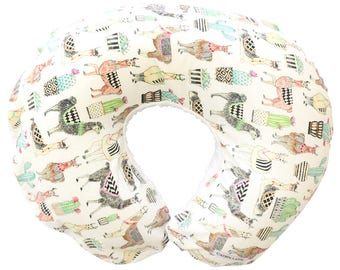 Lovely Llama's | Cactus & Llamas Nursing Pillow Cover