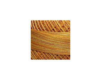 Lizbeth Thread Size 20 Variegated: #180 Honey Drizzle