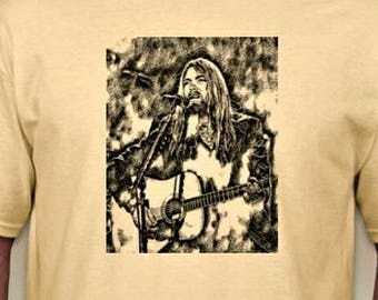 R.I.P. - GREGG ALLMAN Tribute Tee - Allman Brothers Band - Keyboards - Guitar - ABB - Allman Bros - 70's Rock - Southern Rock - Classic Rock