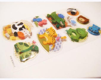 animal sticker stickers for scrapbooking