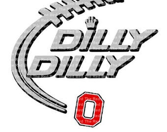 Dilly Dilly Ohio Buckaneers Football funny printable Digital download cut file  SVG, DXF, PNG, EpS, PdF