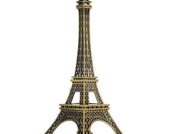 The Pairs-Iron Paris Eiffel Tower Model Micro Landscape Decorations Iron Tower Accessories for Scenes
