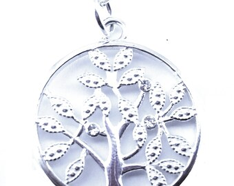 Life Tree Necklace-Silver
