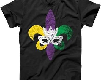 Mardi Gras Mask - T shirt