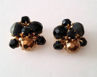 Hattie Carnegie Beaded Earrings