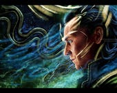 Loki -Words can be poison Prints