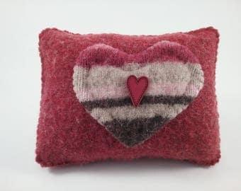 Heart pillow tuck/ bowl filler