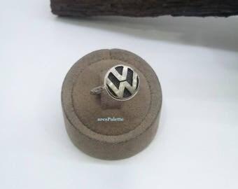 VW Ring-925 Silver Handmade
