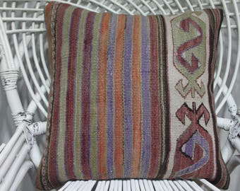 sofa throw pillow embroidered pillow sham dark color kilim cushion 18x18 etsy tapestry pillows tissu azteque kilim bamboo couch  1855