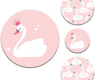 A pack of swan Designs Patternweights Ideal for holding Patterns onto fabric