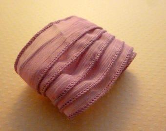 Pink old muslin Ribbon - RC-0071