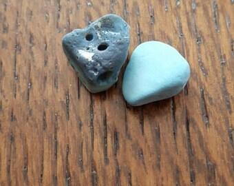 Leland Blue Slag Stone Very Rare Lelandite Lake Erie Bluestone UNDRILLED