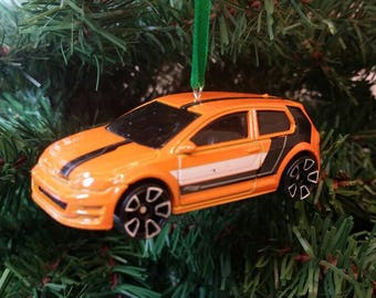 Miniature Volkswagen Golf Mk7 VW Free Shipping Happy Holidays L@@k