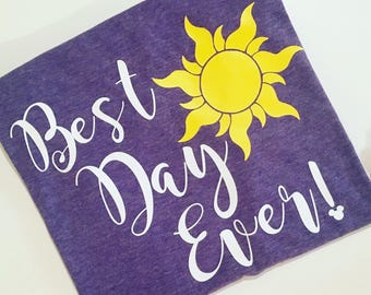 "Tangled ""Best Day Ever""Rapunzel Shirt"