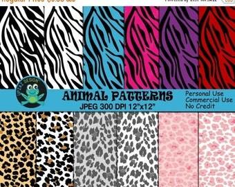 75% OFF SALE Zebra Print Digital Paper, Zebra Pattern, Zebra Print Pattern, Commercial Use, Background, Scrapbook Papers - UZ812