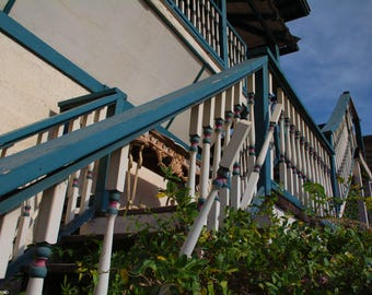 Abandoned Buildings, Stairs, Ghost Town, Mining Town, Urbex Photography, Abstract Art, Staircase, Stairway, Upstairs, Downstairs, Fine Art