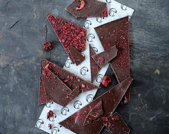 Sour Cherry Dark Chcolate Shards
