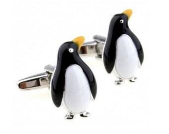 Penguin Cufflink -B159