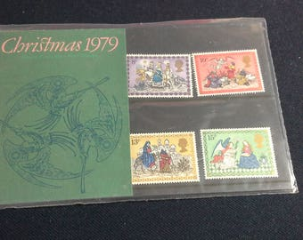 Royal Mail stamps presentation pack No113 Christmas 1979