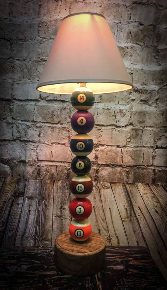Pool inspired table lamp