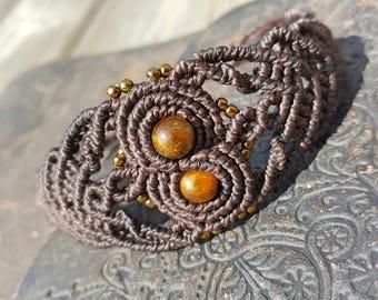 Tigers Eye Infinity Bracelet