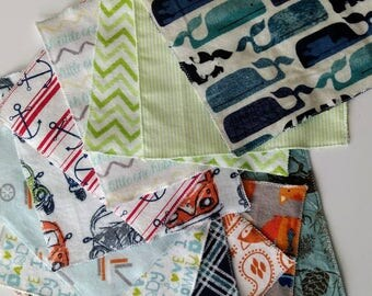 Wipes - Reusable - Wash Cloths - Napkins - Cloth Diapering Wipes