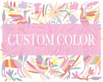 Otomi. Custom color. Custom print. Custom wall print. Custom nursery wall art. Personalized art. Personalized print